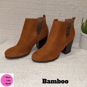 BAMBOO Brown Suede Boots